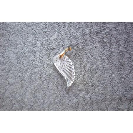 pendentif aile ange cristal de roche