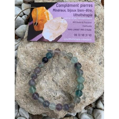 bracelet ange gardien pierres