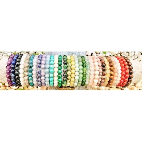 bracelets énergétiques, bracelet de pierres, Bracelet