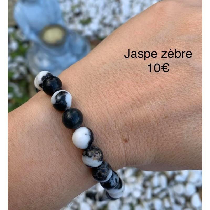 bracelet jaspe zèbre