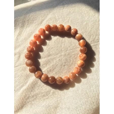 bracelet pierre de soleil véritable